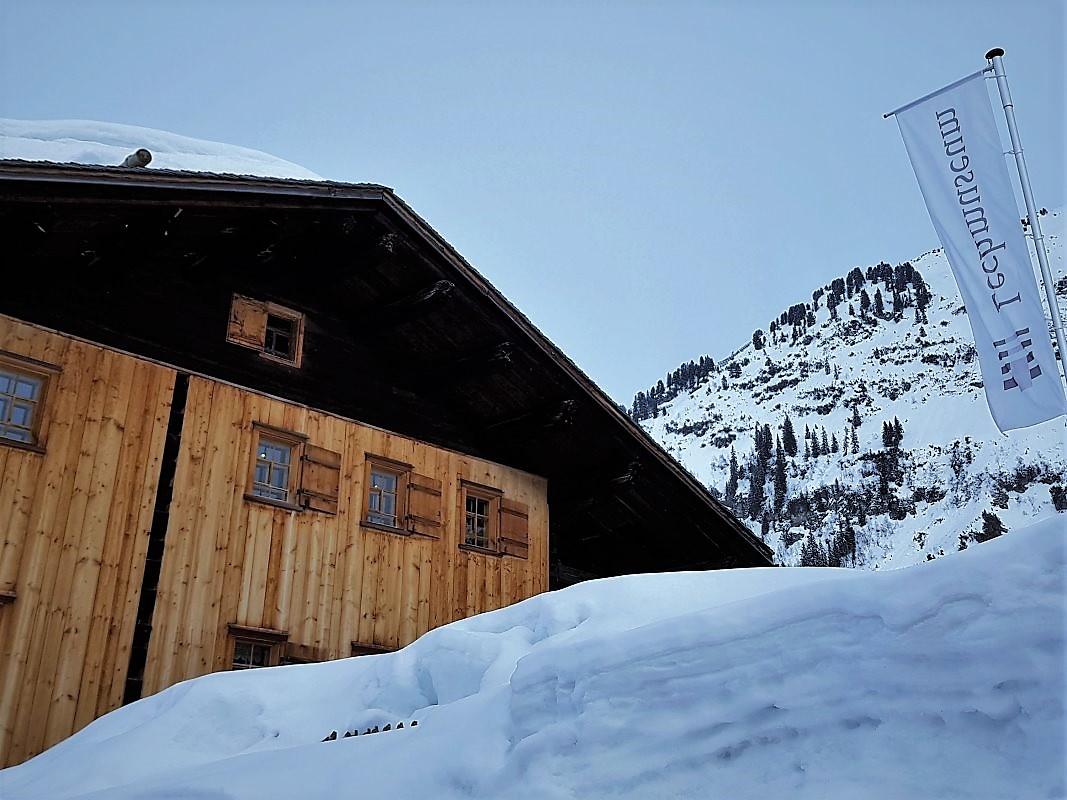 """Gehen am Berg"", Ausstellung im Lechmuseum. (Foto: Knut Kuckel)"
