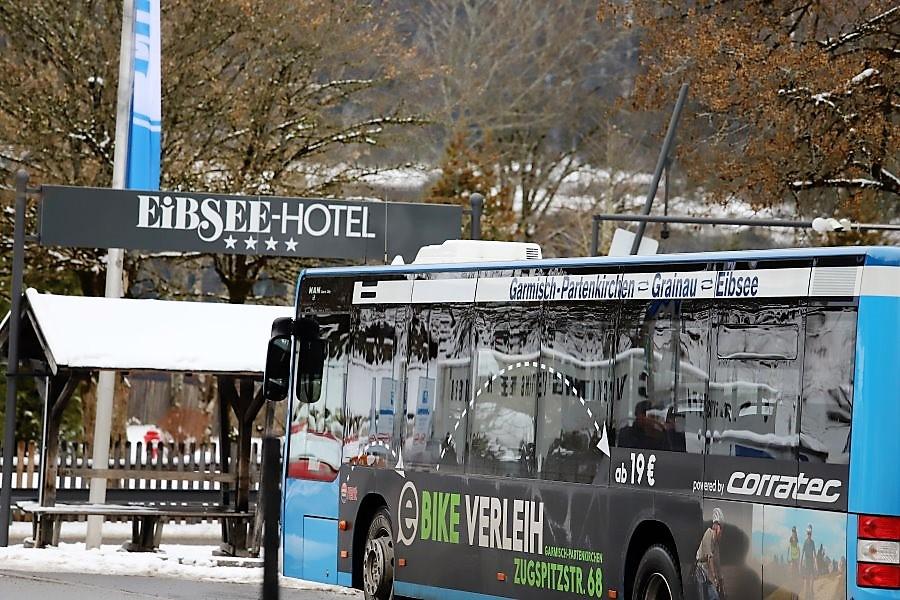Eibsee Hotel. (Foto: Knut Kuckel)