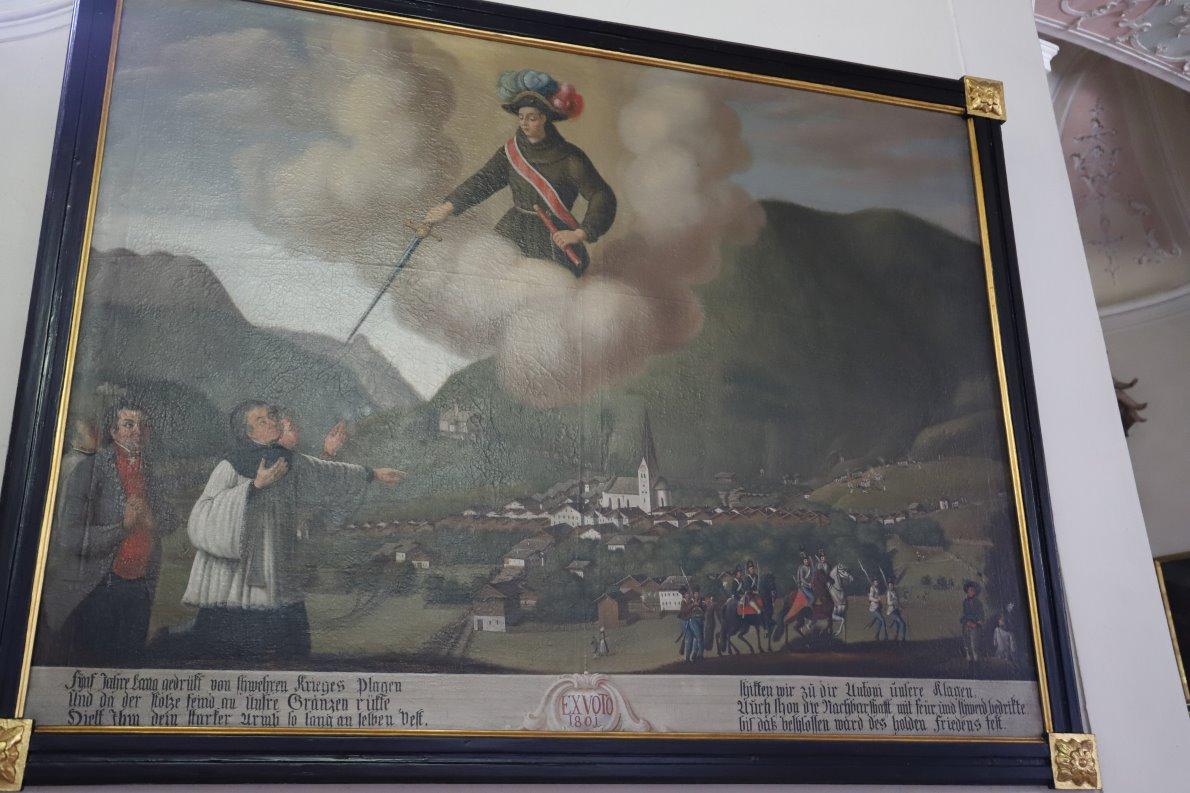 Die siegreichen Tiroler verzichteten in Partenkirchen und Garmisch auf Plünderungen. Die Antonius-Kirche wurde zum Dank errichtet. (Foto: Knut Kuckel)