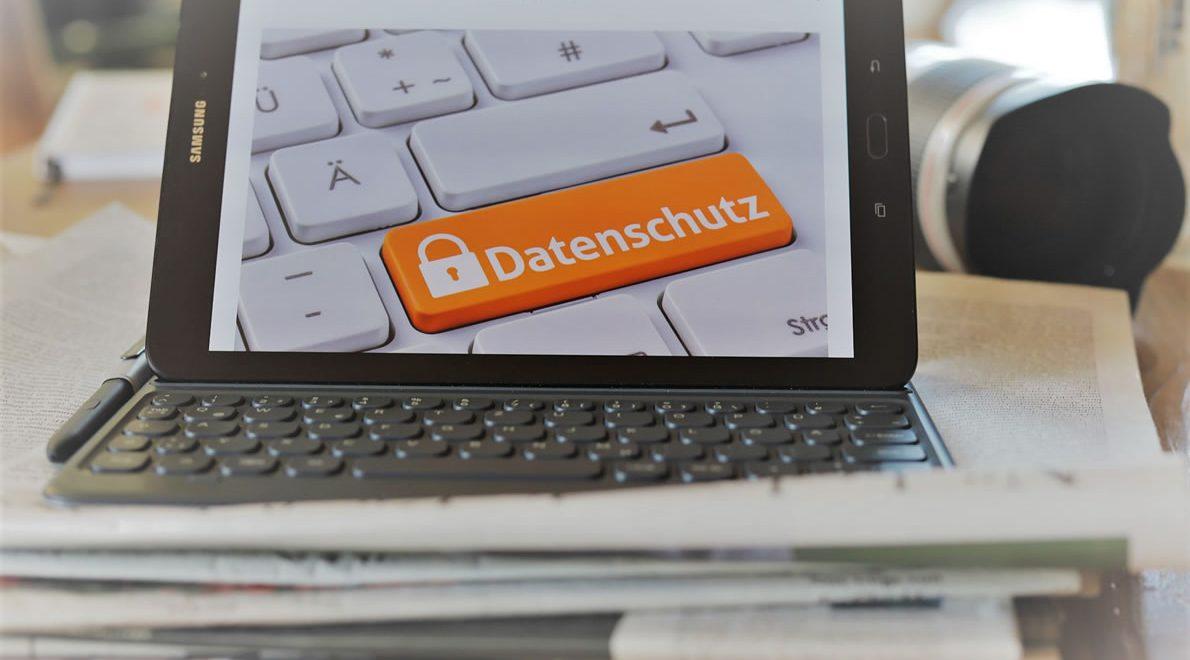 Datenschutz und Datenschutzerklärung. (Foto: Knut Kuckel)