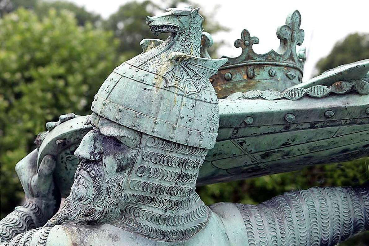 Hagen-Denkmal in Worms am Rhein. (Foto: Stadt Worms)